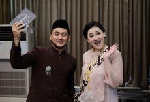 Kesha Ratuliu & Adhi Permana Wedding by MC Faiz