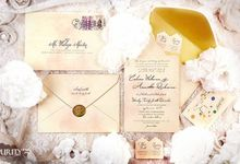 'Love Letter' Invitation by PurityCard