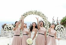Jeremy & Ivon Wedding by Banyan Tree Ungasan Resort