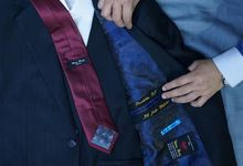 Special Design Handmade Bespoke Sartorial Suits by Wong Hang For President Joko Widodo by Wong Hang Distinguished Tailor