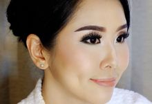 Wedding Make Up by Vinanathalia_mua