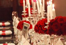 Color of Passion and Love by Elite Party Designer