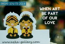 Cartoon Wedding Couple by Azka Gallery
