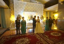 Lulu & Badai ~ Wedding reception by Maheswara