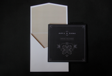 Art Deco in Black And White by natanata paperie