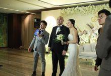 MC Wedding Intimate OnFive Grand Hyatt Jakarta - Anthony Stevven by Anthony Stevven
