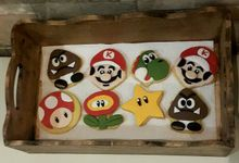 Cookies Art by Rolling Pin Sugar Art