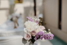 Villa Solemnisation Lilac Floral Theme by Lily & Co.
