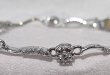 Diamond And Stone Bracelet by Belle Jewelry