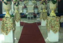 wahyu - diane wedding day by Link Wedding Planner