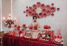 Sangjit Box Rental and Backdrop by SAVORENT Gown Rental