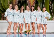 Robes for Bridemaids by The Mariposa Collection
