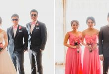 Mr. Erick & Mrs. Decy wedding by Brillington & Brothers