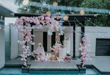 Japan Sakura Proposal in Singapore cosy Villa Romantic Japan Theme by Lily & Co.