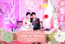 Anto n Meri Wedding by Sharing Moments Photobooth
