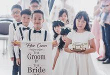 The Wedding Of Grady & Kezia by delazta wedding coordinator
