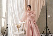 Luna Puffy Dress by Byagnesisabela