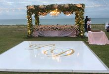 Set up ceremony reception by InterContinental Bali Resort