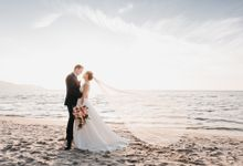 Garden Wedding by the beach by My Love Momentz