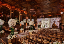 Opulent classical wedding with custom structures by Daniel Events