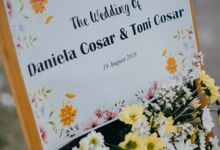 The Wedding of Toni and Daniela by Gaiasophy