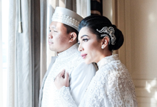 Mrs. Natasha Vinski's & Husband's Wedding by DANNY SATRIADI