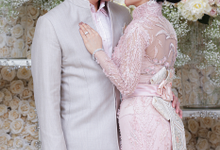 Mrs. Syahrini's & Mr. Reino's Engagement Attire by DANNY SATRIADI