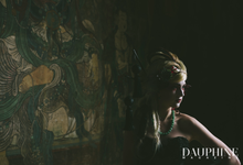 Dark Fantasy Asian Wedding Style Editorial Shoot by Asian Fusion Weddings