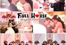 the wedding of David & Selvy 22 Juni 2014 by Full House the organizer & entertainment