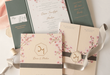 Davin & Meiliana by Meltiq Invitation