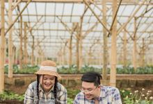 Davine Kartini Pre-Wedding | Love Grows at Farm by Ducosky