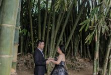Davine Kartini Pre-Wedding | Beneath the Bamboo Trees by Ducosky