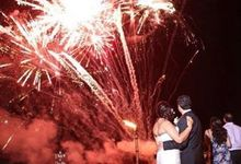Fireworks by Bali Wedding Entertainment