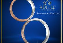Kiss Wedding Ring by Adelle Jewellery
