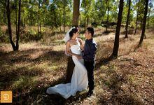 Rendra & Dewie by dedenphotography