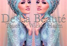 Bride in hijab by Wickky Halim Make Up Artist