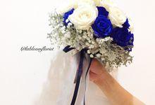 Midnight Blue Wedding by La Bloom Florist
