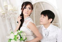 Cairo & Klaviera Wedding by Natcha Makeup Studio
