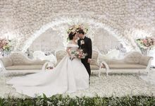 Wedding of Dwitya & Devina by Royal Ballroom The Springs Club