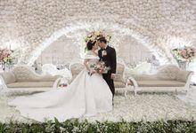 Wedding of Dwitya & Devina by Royal Ballroom The Springs Club