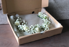 Flower Crown for Brides by De' Flower