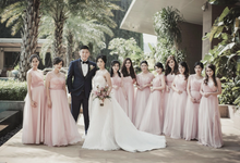 MrMrsKandiawan Wedding Reception by de la Rose