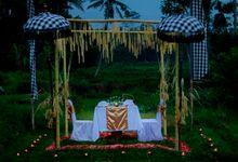 Ricefield Wedding at De Klumpu Bali by De Umah Bali