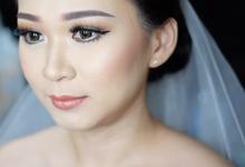 Wedding makeup Ms. Amy by Dea Natassya