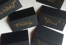 Seating Cards by DC Calligraphy