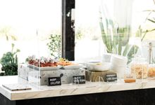 Intimate Wedding Luncheon of Edo and Deasy by Surabe Catering