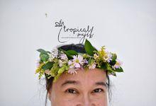 Fresh Flower Crown by Tropical Majik