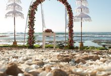Merry Matrimony Package - Beach Wedding (Rp. 35,000,000) by tanadewa luxury villas & spa