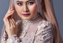 Bridal Muslim Makeup by Dee.tara Makeup Artist & hair hijab