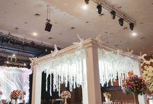The Wedding of Raymoon Anjelina by The Swan Decoration